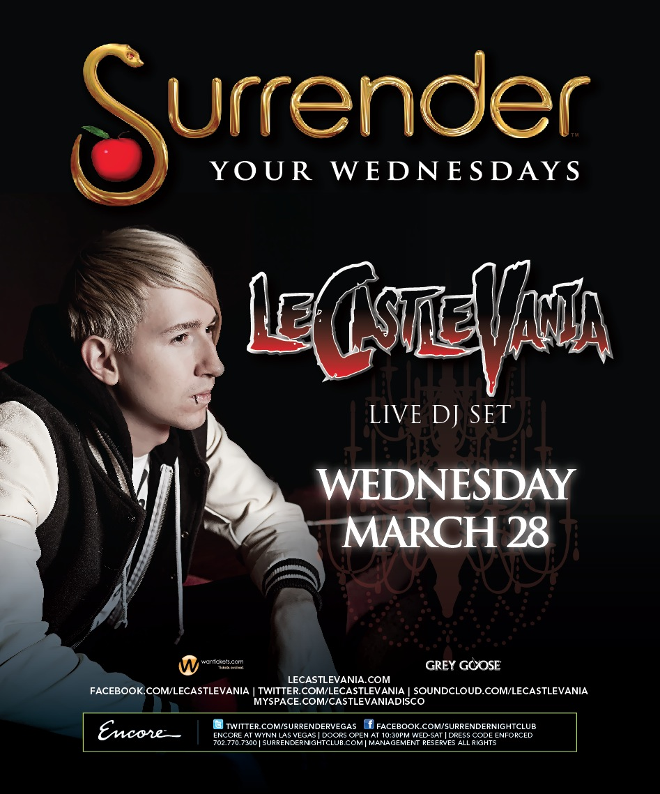 LE CASTLE VANIA,SURRENDER NIGHTCLUB