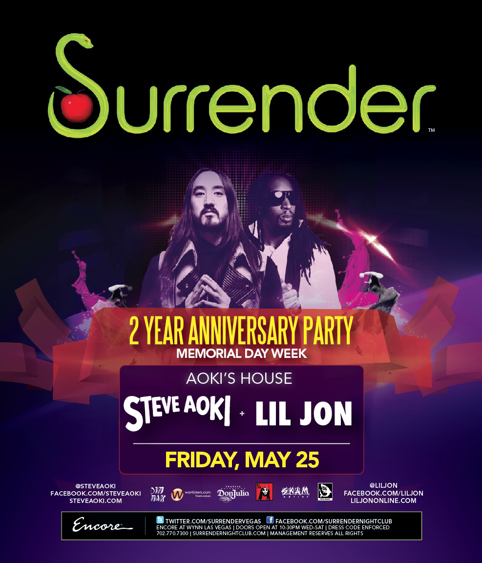 LIL JON,SURRENDER NIGHTCLUB