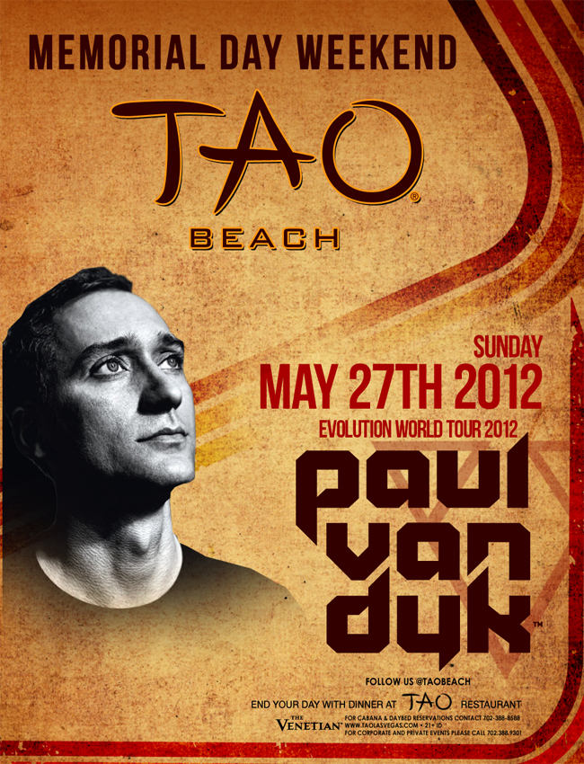 PAUL VAN DYK,TAO BEACH