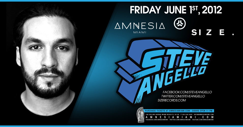 STEVE ANGELLO,STORY MIAMI