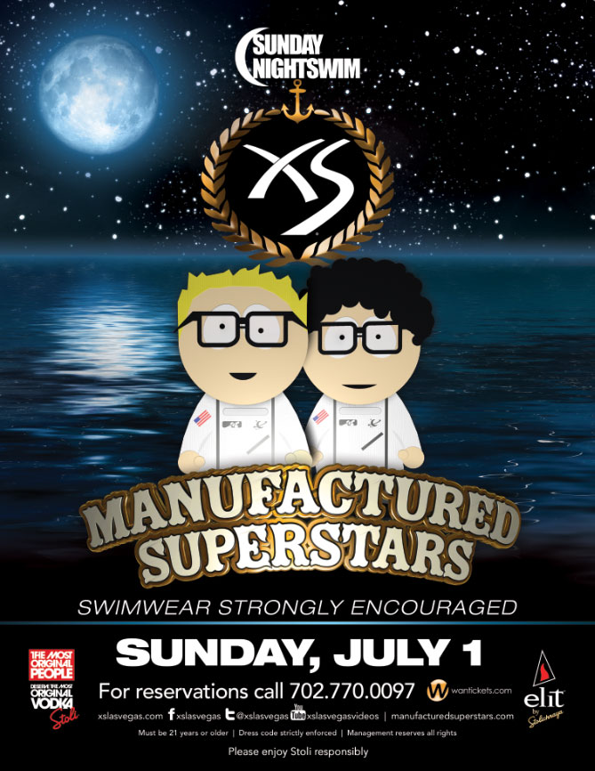 MANUFACTURED SUPERSTARS,XS THE NIGHTCLUB AT ENCORE