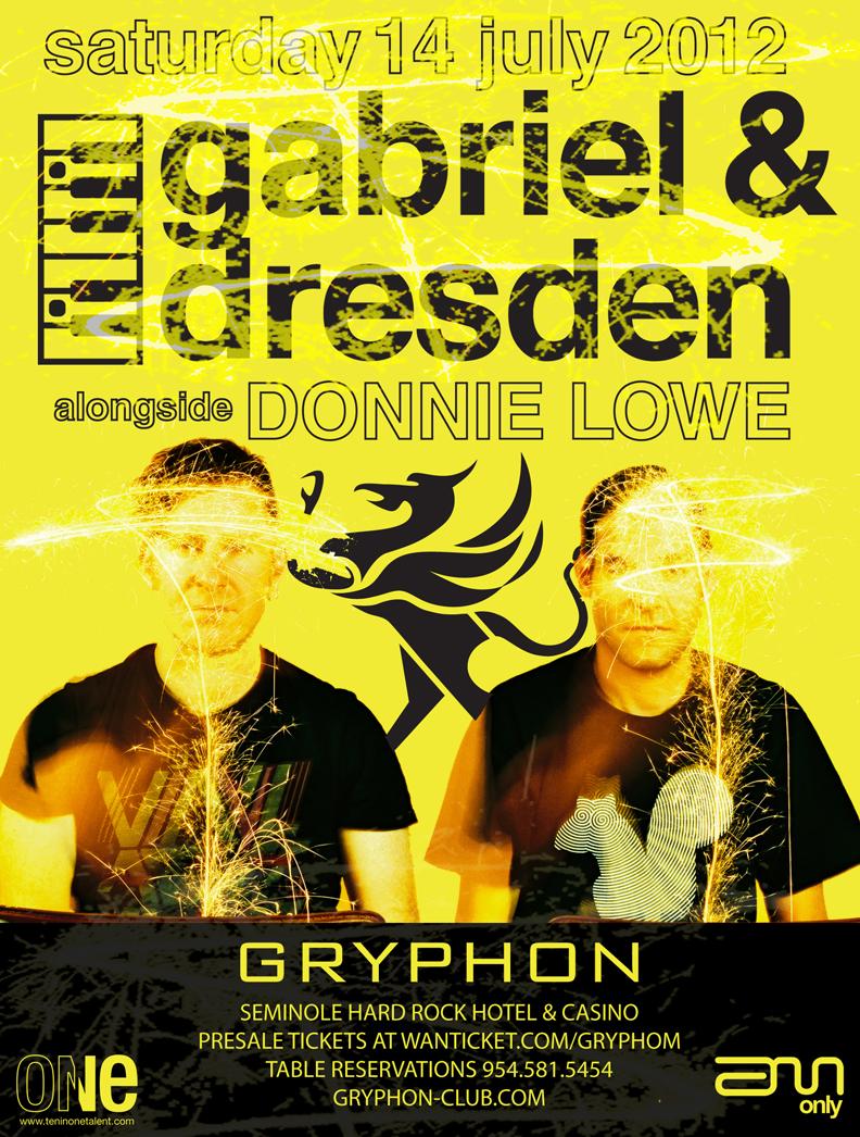GABRIEL & DRESDEN,GRYPHON