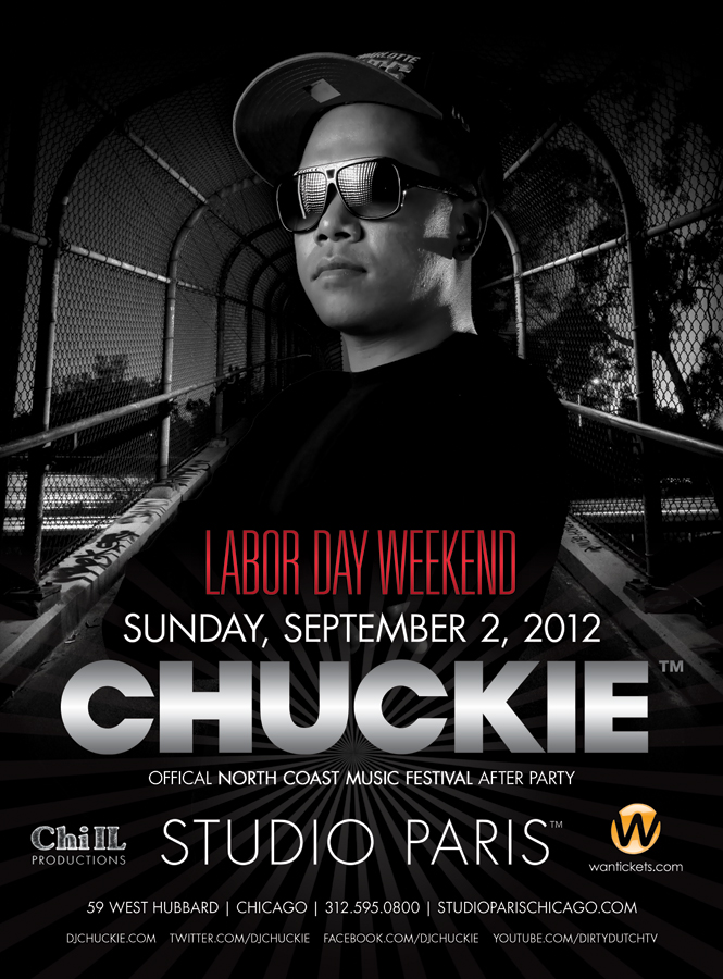 CHUCKIE,STUDIO PARIS