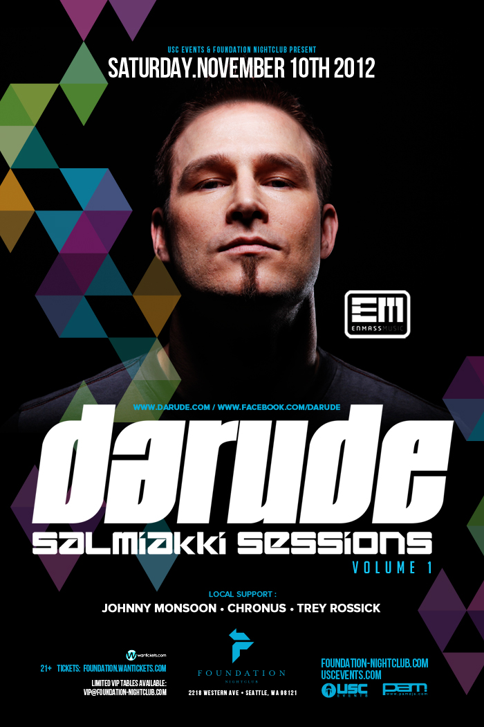 DARUDE,FOUNDATION NIGHTCLUB