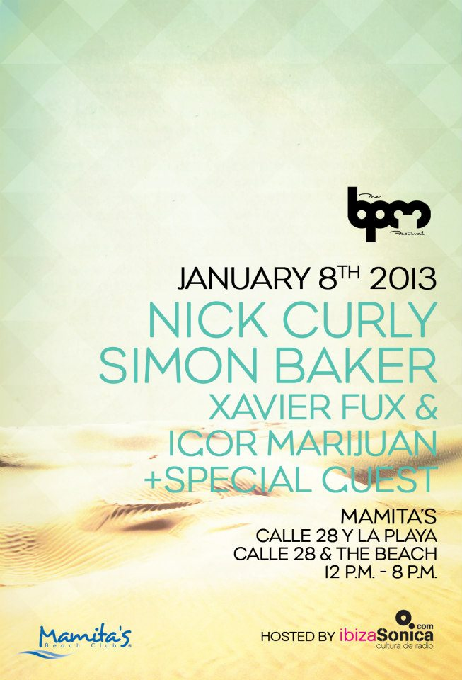 NICK CURLY,MAMITA'S BEACH CLUB