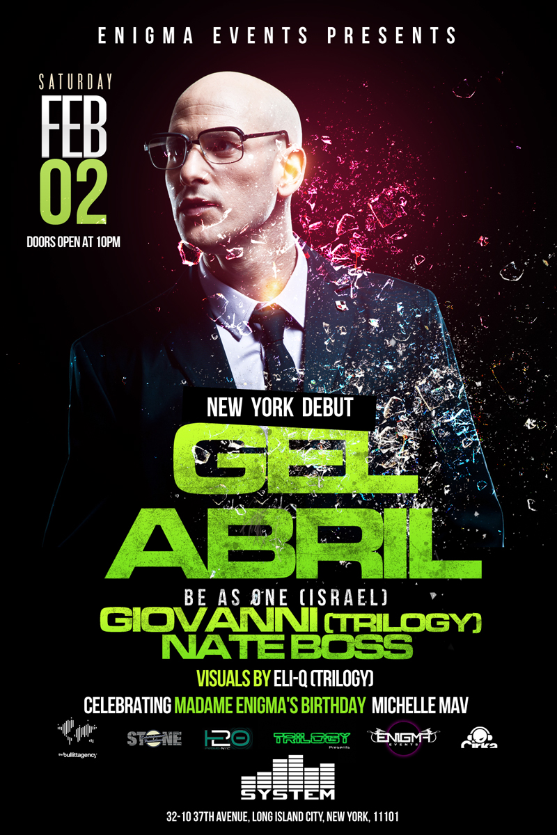 GEL ABRIL,SYSTEM DANCECLUB