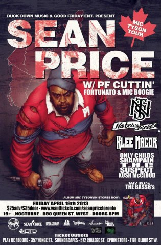 SEAN PRICE,EL MOCAMBO