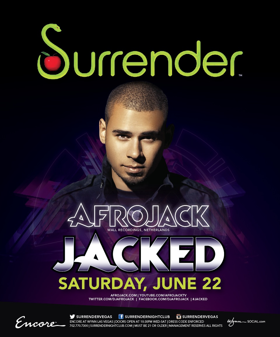 AFROJACK,SURRENDER NIGHTCLUB