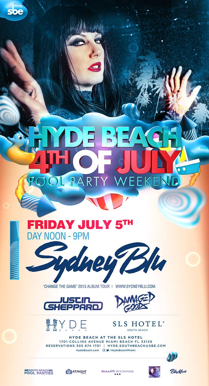 SYDNEY BLU,SLS HOTEL SOUTH BEACH