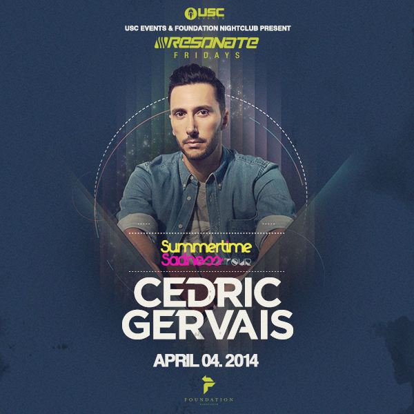 CEDRIC GERVAIS,FOUNDATION NIGHTCLUB