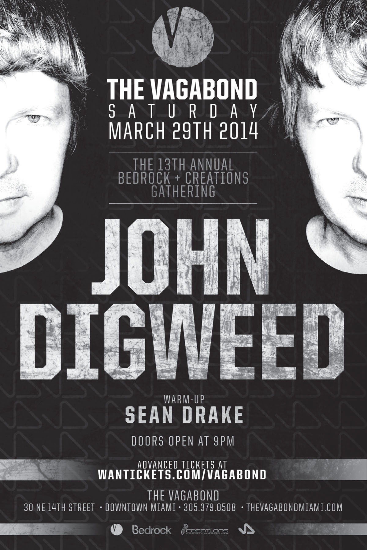 JOHN DIGWEED,THE VAGABOND