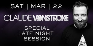 Late Night Session with Claude VonStroke at Marquee Nightclub, Las Vegas