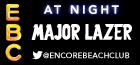 Encore Beach Club at Night with Major Lazer, Las Vegas