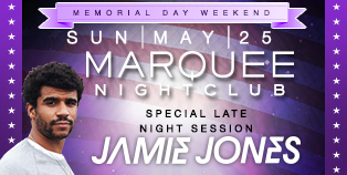 MDW Jamie Jones Late Night Session at Marquee Nightclub, Las Vegas