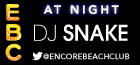 Encore Beach Club at Night with DJ Snake, Las Vegas