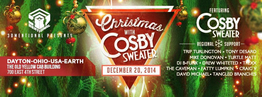 Christmas with Cosby Sweater, dayton