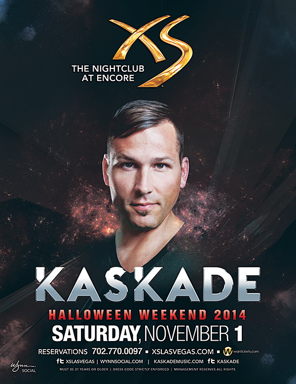 Kaskade at XS Halloween Weekend