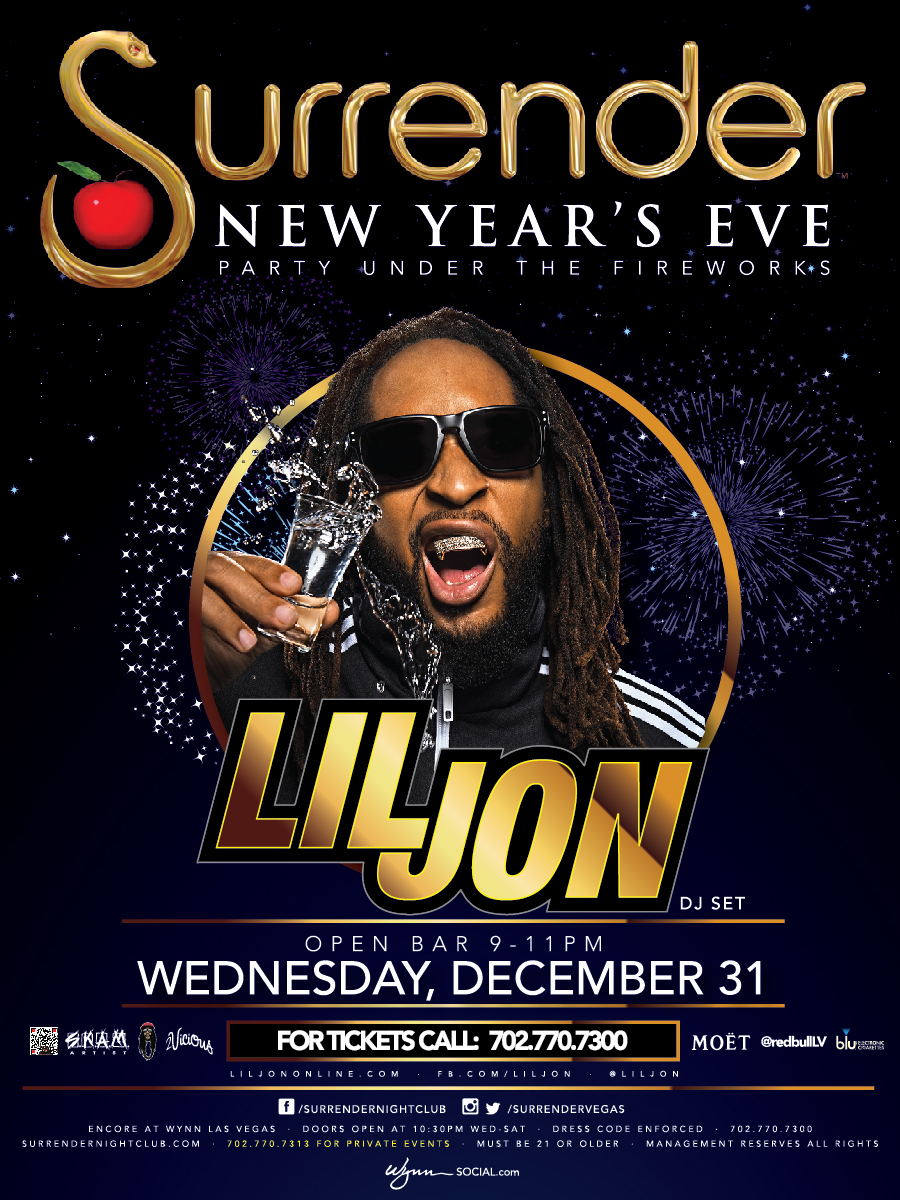 New Years Eve with Lil Jon