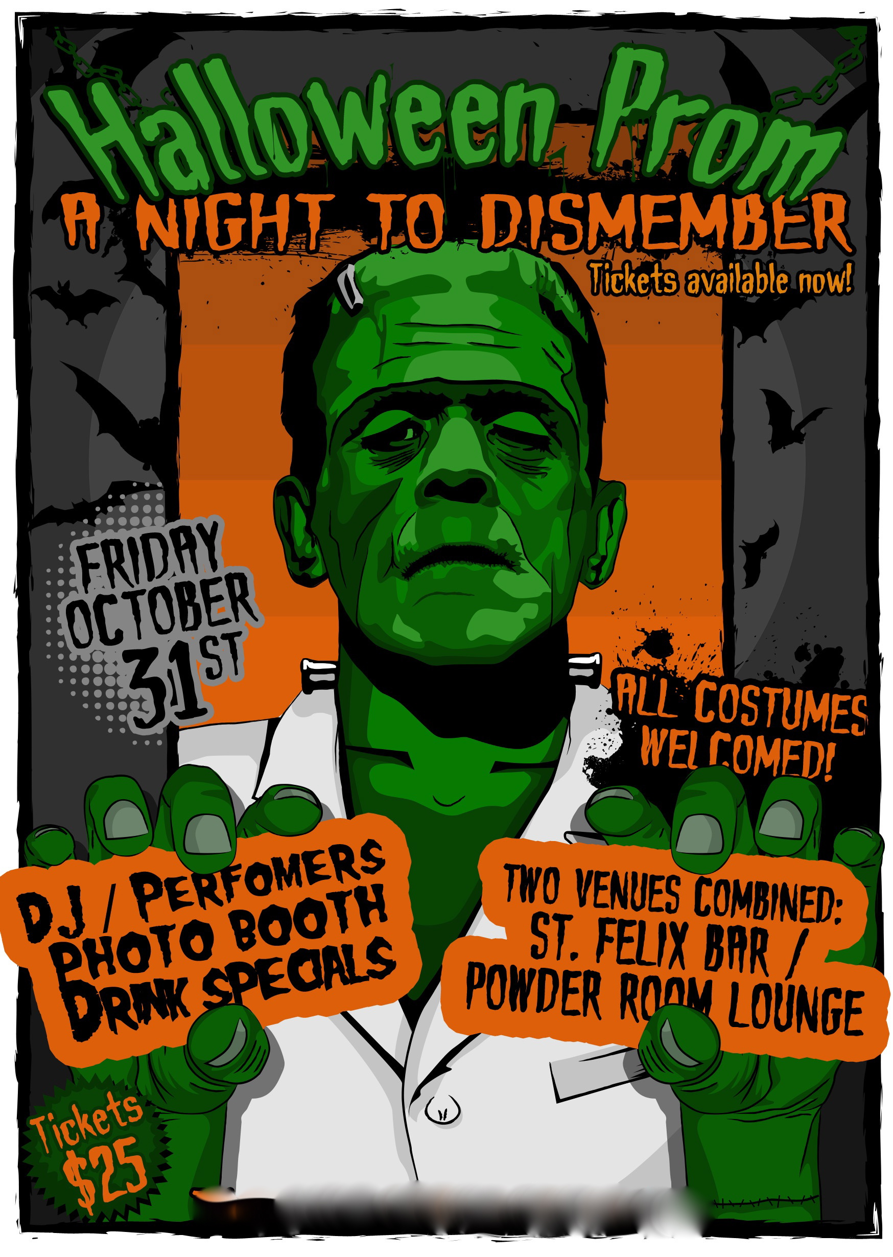 HALLOWEEN PROM | ST. FELIX & POWDER ROOM | FRI OCT 31 | 21+