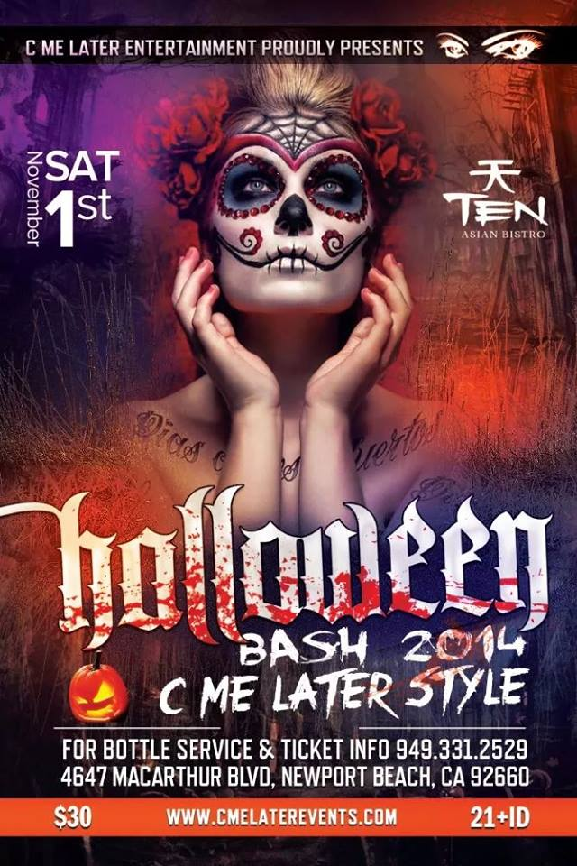 C Me Later 5th Annual Famous Halloween Bash