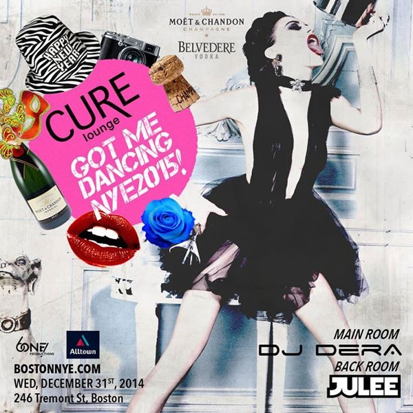 New Years Eve at Cure Lounge