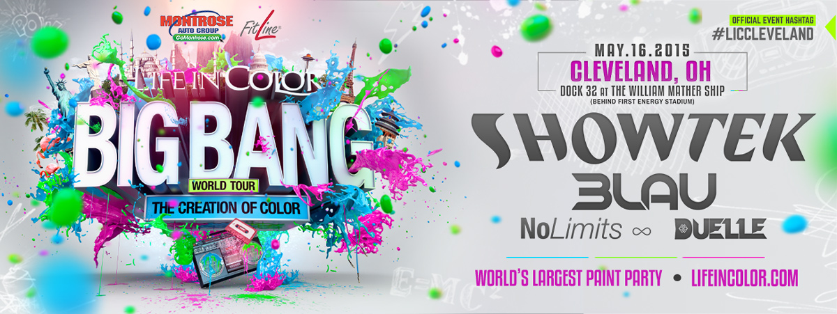 "LIFE IN COLOR ""World's Largest Paint Party"""