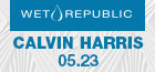 Calvin Harris with Burns at Wet Republic, Las Vegas