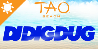 Dig Dug at TAO Beach, Las Vegas