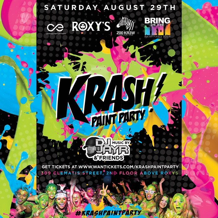 KRASH! Paint Party, West Palm Beach