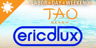 LDW Eric D- Lux at TAO Beach, Las Vegas