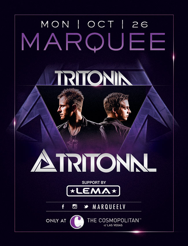 Tritonal at Marquee Nightclub