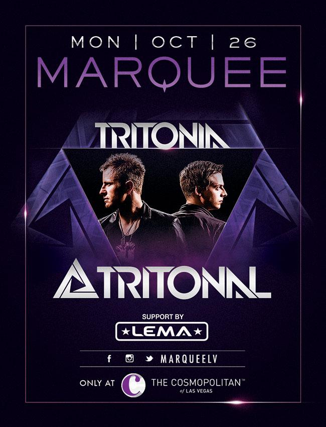Tritonal at Marquee Nightclub