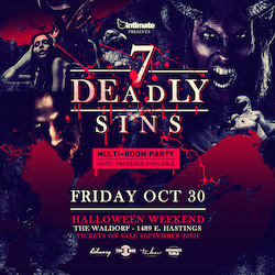 7 Deadly Sins :: Halloween Party [Friday]