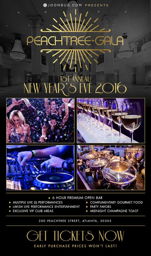 Peachtree Gala NYE in Atlanta!