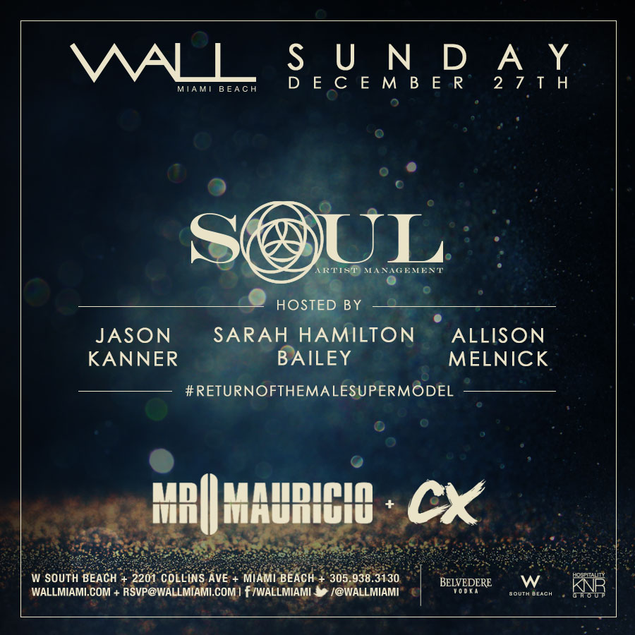 WALL New Year Week Sunday w/ Mr. Mauricio + CX