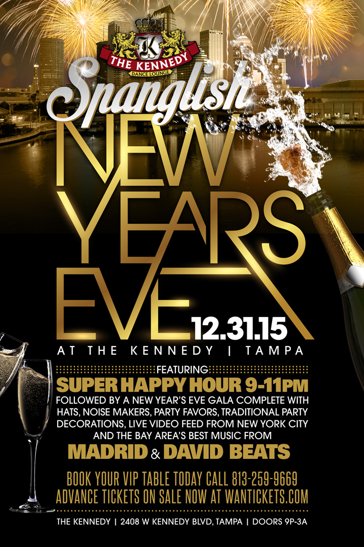 Spanglish NYE @ The Kennedy