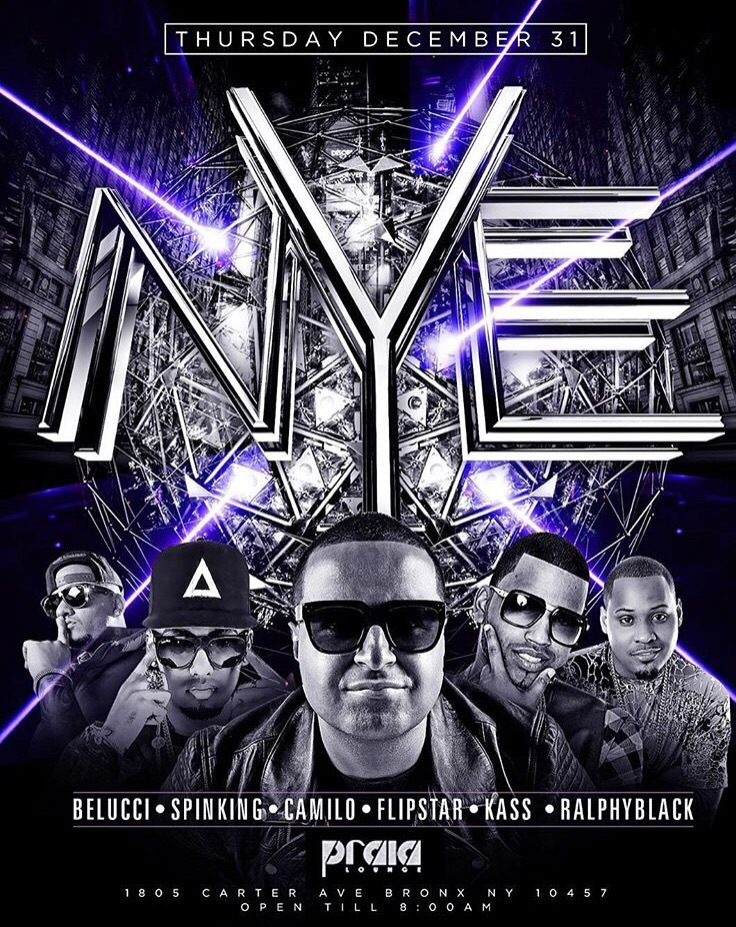 NYE 2016 After Hours DJ Camilo Live At Praia