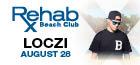 Rehab Beach Club | DJ Loczi, Las Vegas