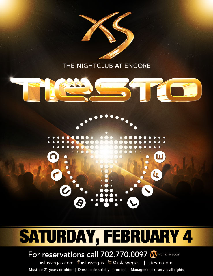 TIESTO,XS THE NIGHTCLUB AT ENCORE